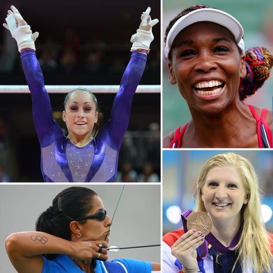 Going For Gold: The Best Olympic Beauty Moments So Far