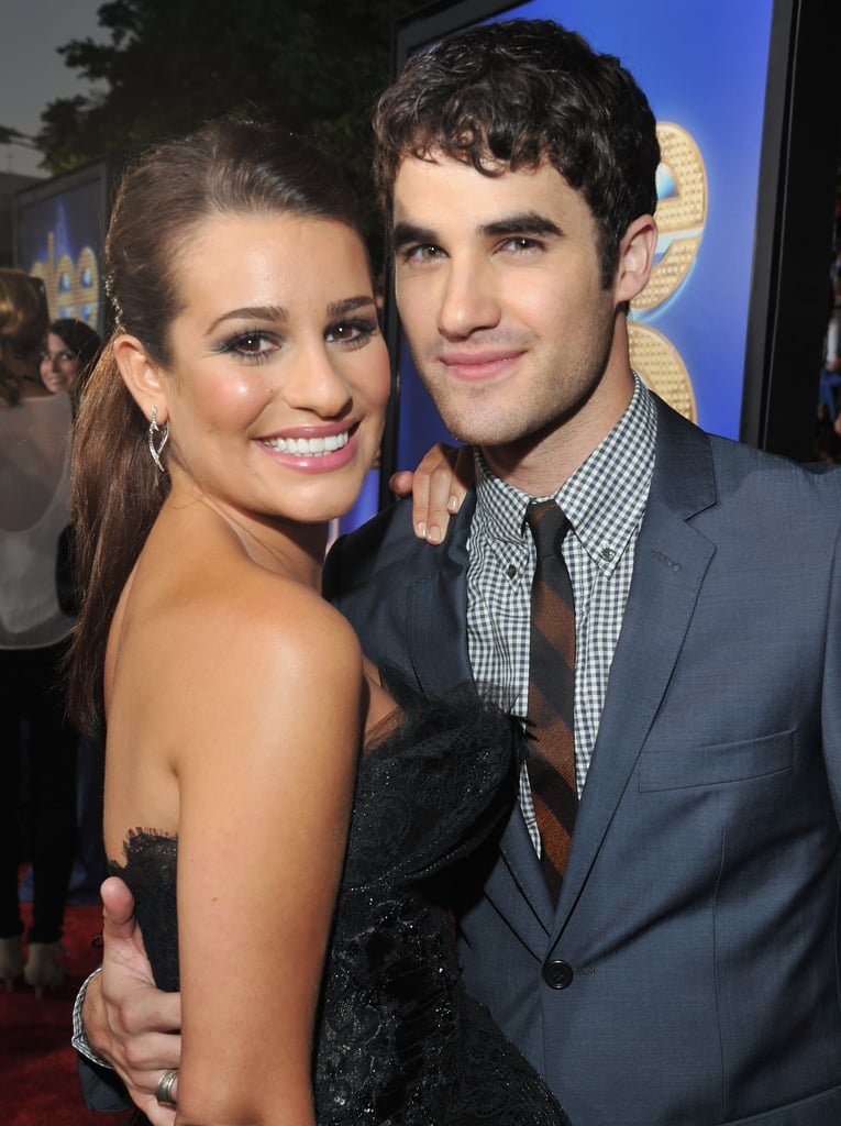 She and Darren Criss hit the red carpet together for the LA premiere of Glee: the 3D Concert Movie in August 2011.