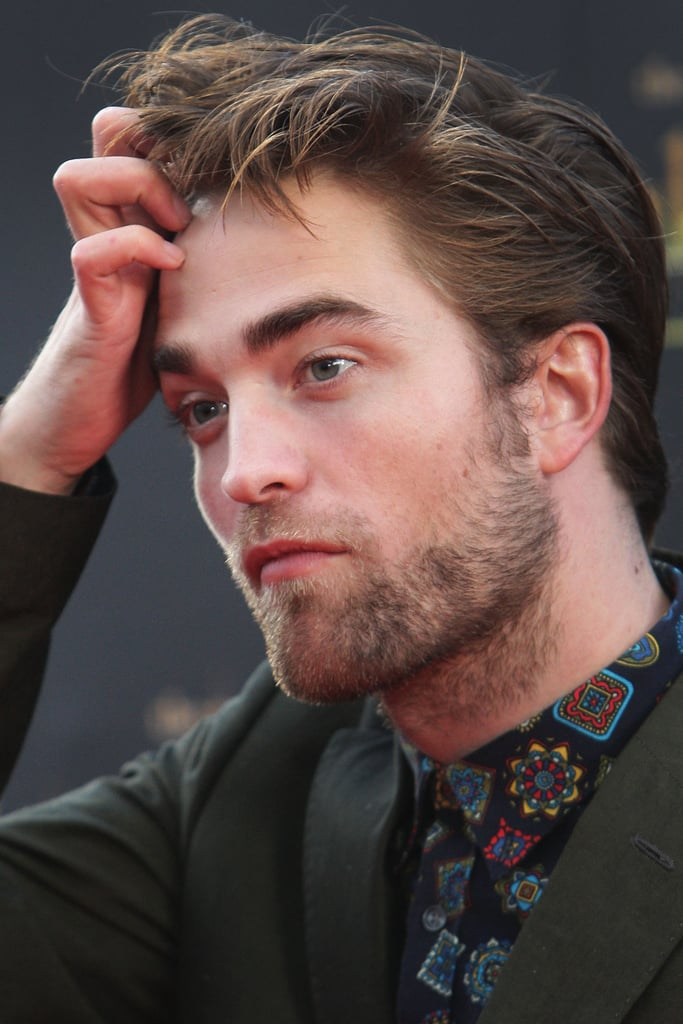 Robert Pattinson stepped out in Sydney.