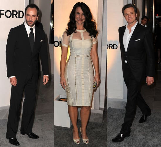 Photos of Tom Ford's Los Angeles Boutique Opening with Colin Firth, Eva Longoria and Rachel Zoe