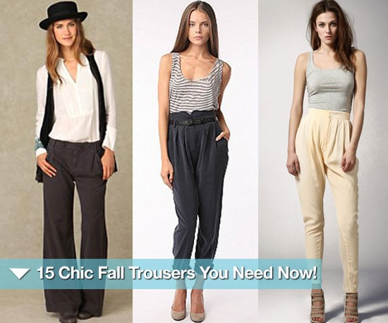 The Trouser Trend For Fall 2010