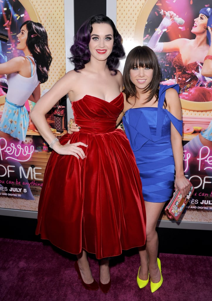 Katy Perry and Carly Rae Jepsen