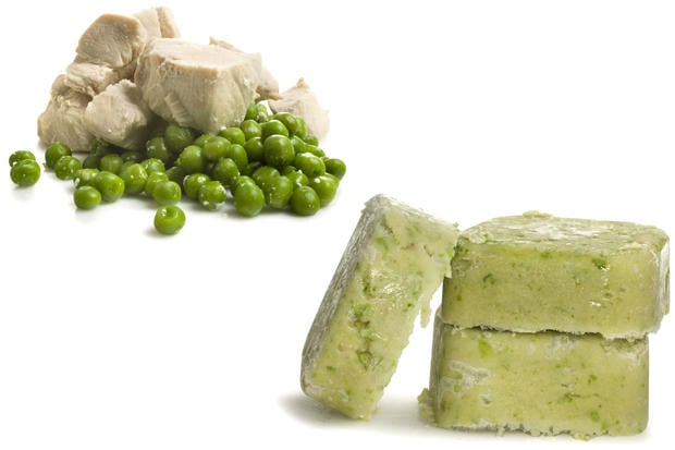 Chicken and Sweet Pea Baby Food