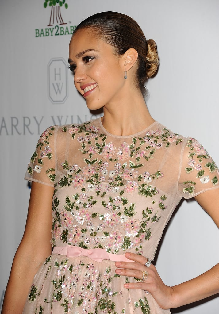 Jessica Alba Gets Honored With Help From Mindy, Busy, Nicole, and More