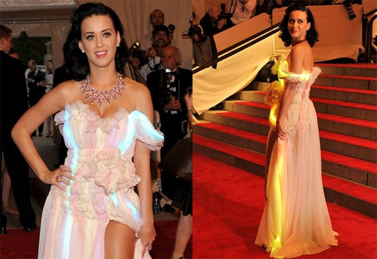 Katy Perry's LED Dress at the 2010 Costume Institute Gala