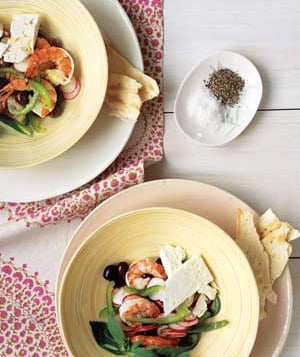 Easy Mediterranean Shrimp Salad Recipe