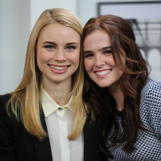 Zoey Deutch and Lucy Fry Vampire Academy Interview