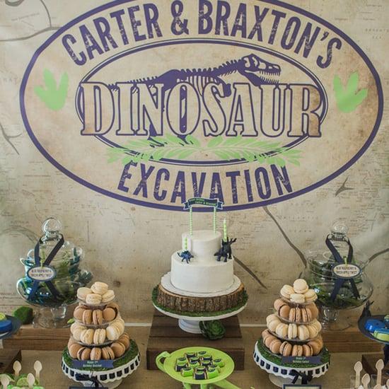 Dinosaur Kids' Birthday Party Ideas