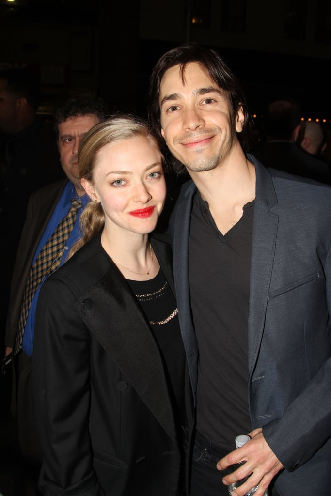 Amanda Seyfried and Justin Long prove they're a VERY down ...  |Amanda Seyfried And Justin Long