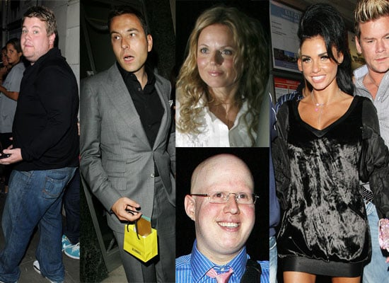 Photos Of Katie Price At David Walliams' Birthday Party With Geri Halliwell, Matt Lucas, James Corden
