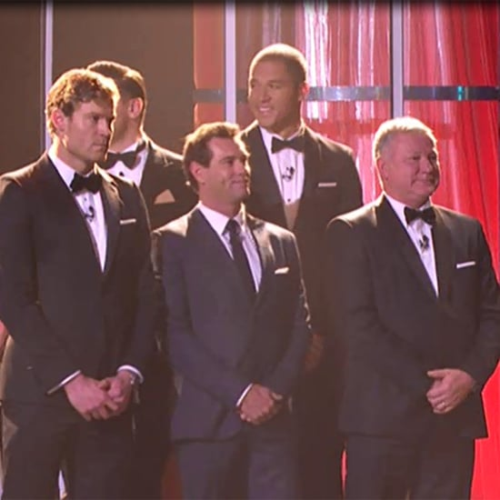 The Bachelor Rose Ceremony Skit at 2015 Logies GIFs