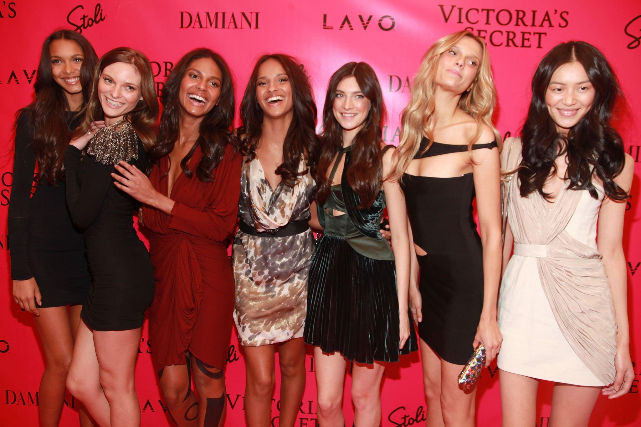 Lais Ribeiro, Fabiana Semprebom, Emanuela de Paula, Gracie Carvalho, Jacquelyn Jablonski, Martha Streck, Liu Wen