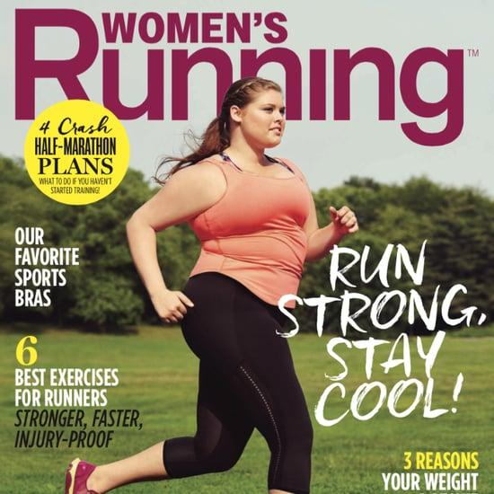 Women's Running Plus-Size Cover Model   August 2015
