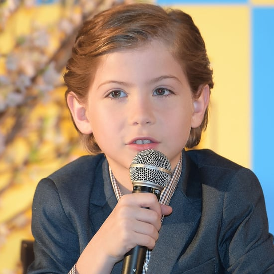 Jacob Tremblay at Room Press Conference in Japan 2016