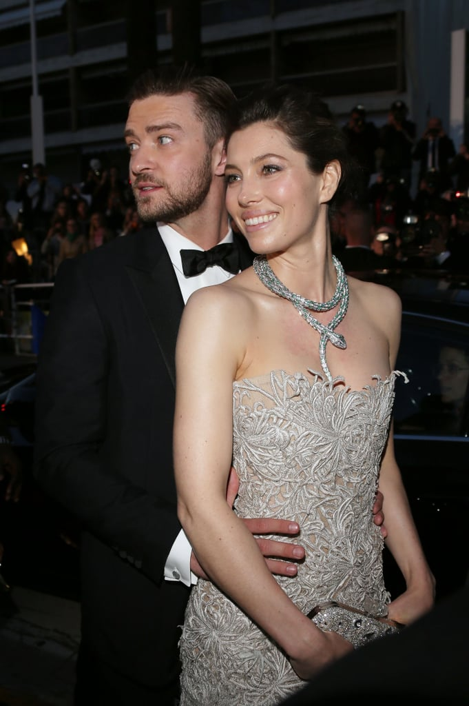 The couple got glam at the May 2013 Cannes Film Festival.