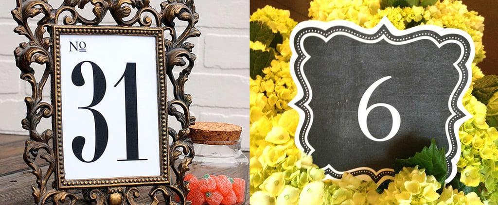 33 Fun and Free Wedding-Table Printables