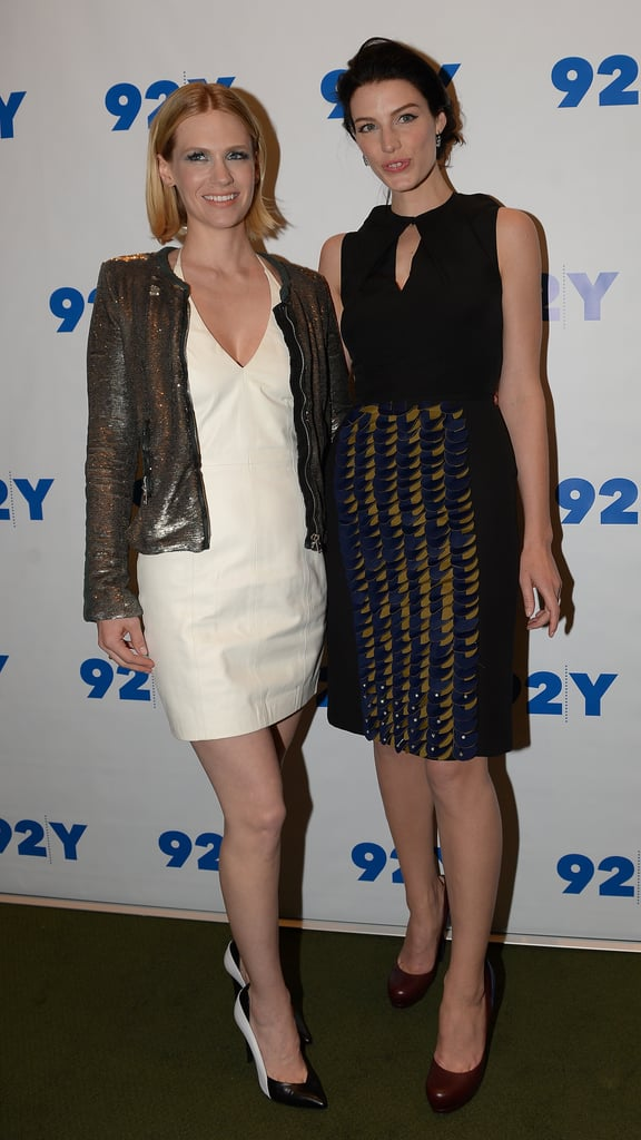 Jessica Paré and January Jones joined Matthew Weiner to discuss the wives of Mad Men.