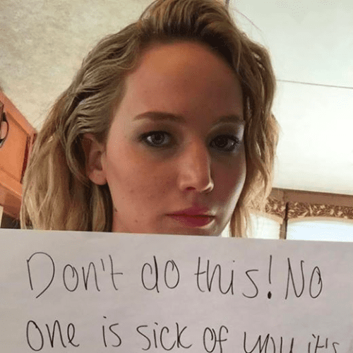 Jennifer Lawrence's Goodbye Message to David Letterman Is a Good Message to All of Us