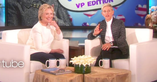 Hillary Clinton Picks Potential Vice Presidents With Ellen DeGeneres: Beyonce or Chewbacca Mom?