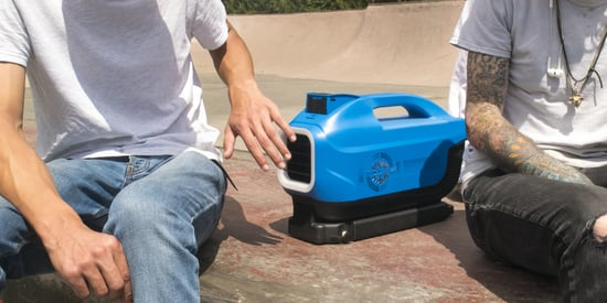 This Tiny Portable Air Conditioner Makes Going Outside A Breeze