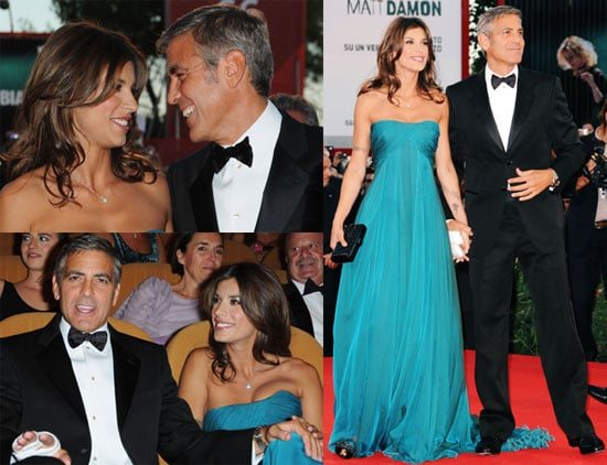 Photos of George Clooney and Elisabetta at Venice