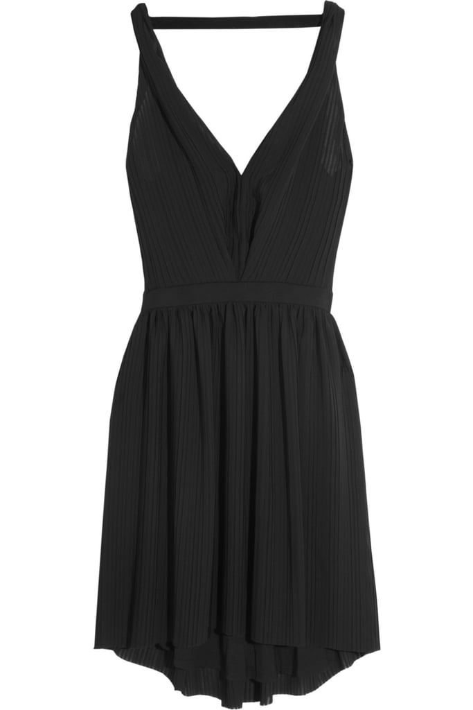 This year's NYE involves a party by the beach with friends, which means an LBD that can take me from day to night is a sure-thing. I'd give this Maje dress a little punch via jewelled earrings and a beautiful clutch, and would keep flats by my side if I needed a break from my party heels. This is our last New Year's without a baby so I'll be going crazy on the lemonade! — Marisa, publisher Dress, approx $263, Maje at Net-a-Porter
