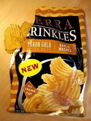 Food Review: Terra Crinkles — Garlic Mashed