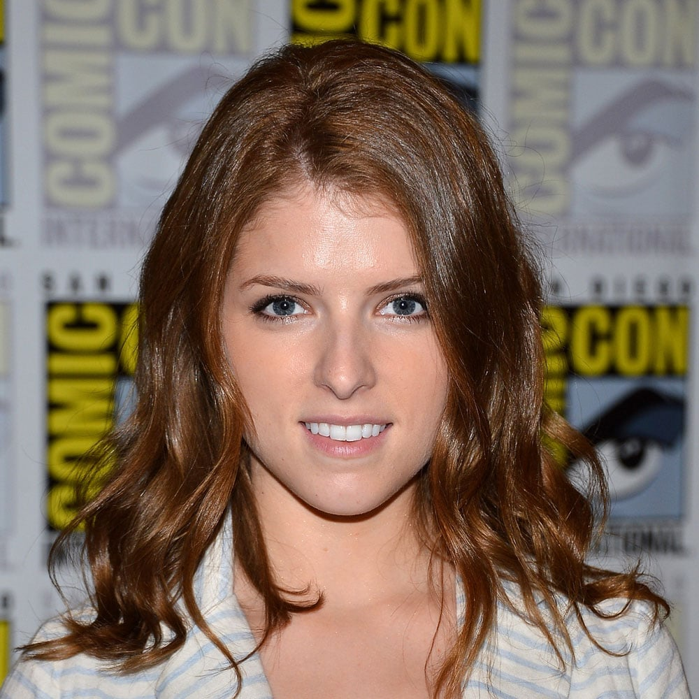 We loved the hint of auburn in Anna Kendrick's hair. She finished off her glossy look with some effortless curls.