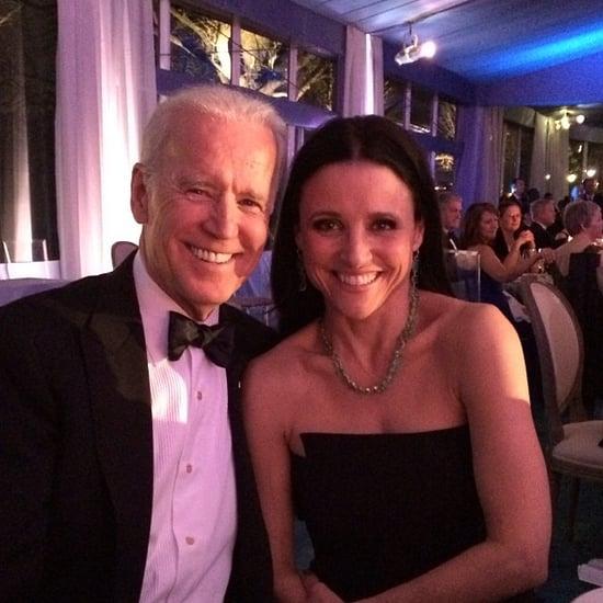 Julia Louis-Dreyfus and Joe Biden
