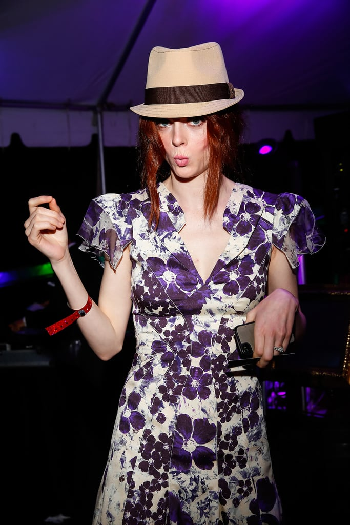 Coco Rocha let loose at the Barnstable Brown Gala on Friday.