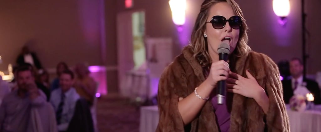 This Maid of Honor Sang a Hilarious Adele Parody For Her Wedding Toast