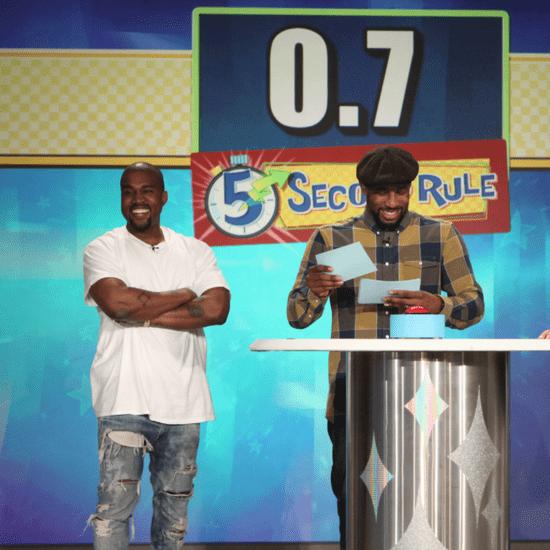 Kanye West 5 Second Rule on Ellen May 2016