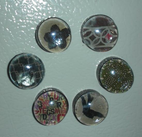 DIY: Glass Découpage Magnets