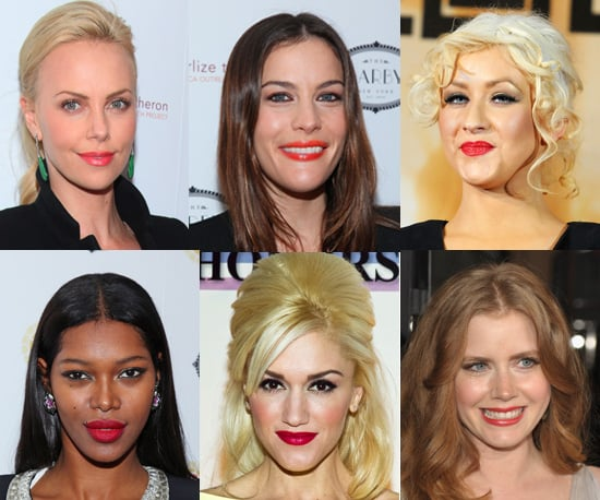 Celebrities Go Wild For the New Bright Lipstick Trend