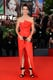 Sandra Bullock wore a glamorous red gown for the premiere of Gravity at the Venice Film Festival.
