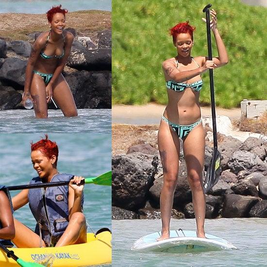 Pictures of Rihanna in a Bikini