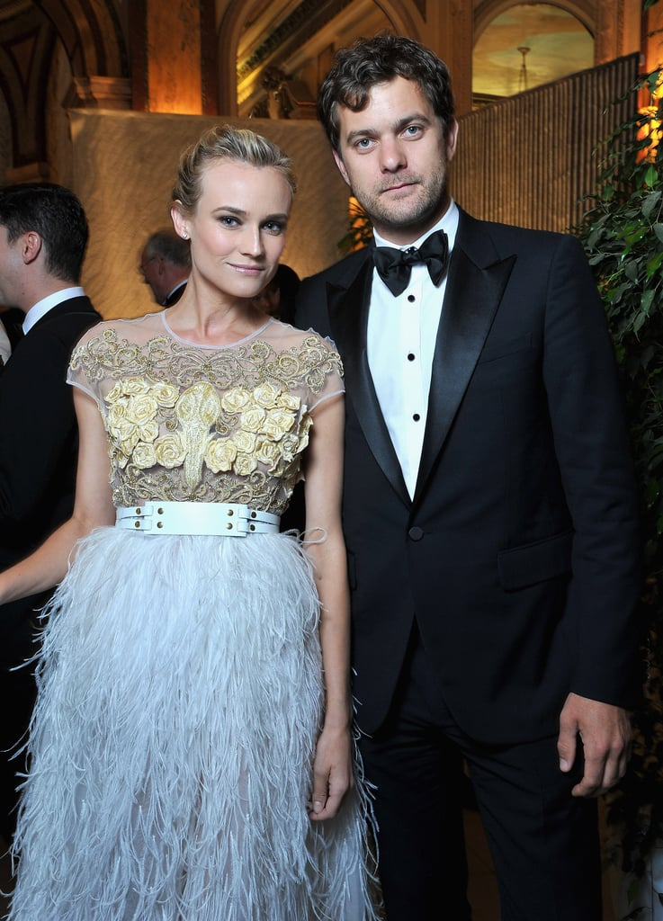 Diane Kruger and Joshua Jackson attended the Nights in Monaco Gala Fundraiser together in Monte Carlo.