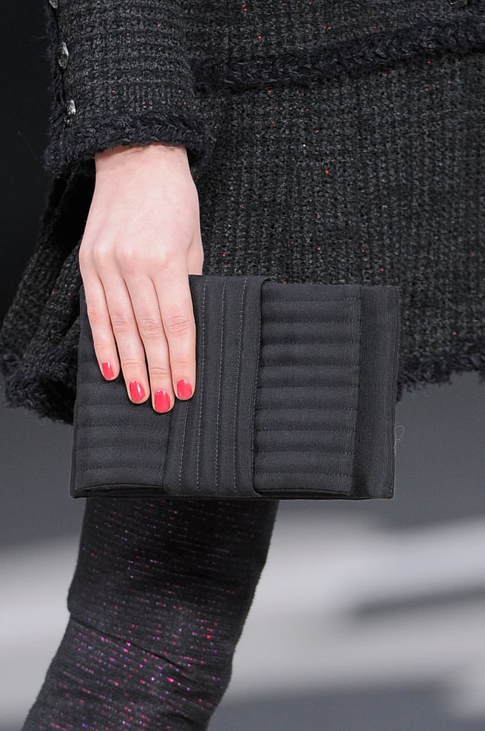Every season the Chanel show brings much anticipation — for the polish, that is. This year you loved the new poppy nail hue seen on the Chanel runway.