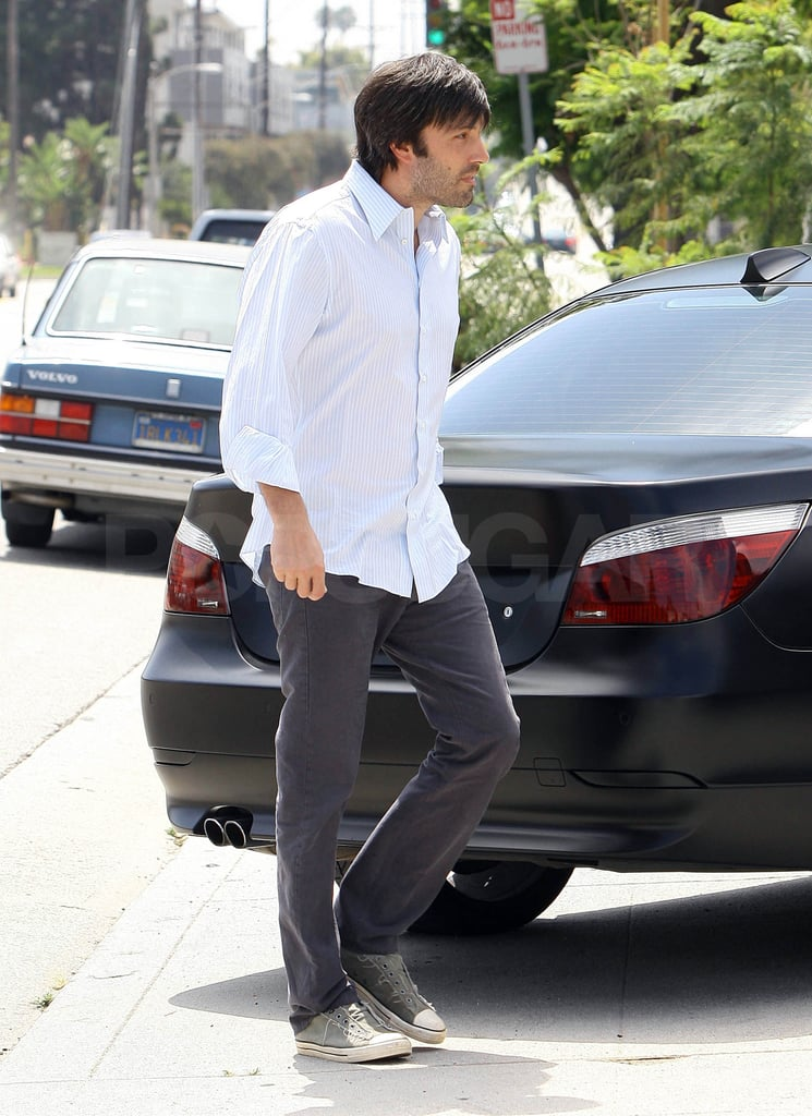 Ben Affleck stepped out in LA yesterday.