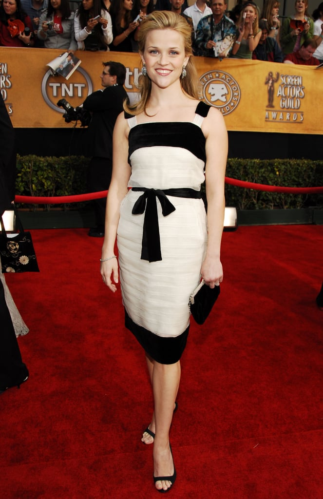 Reese Witherspoon in Yves Saint Laurent at 2006 Screen Actors Guild Awards