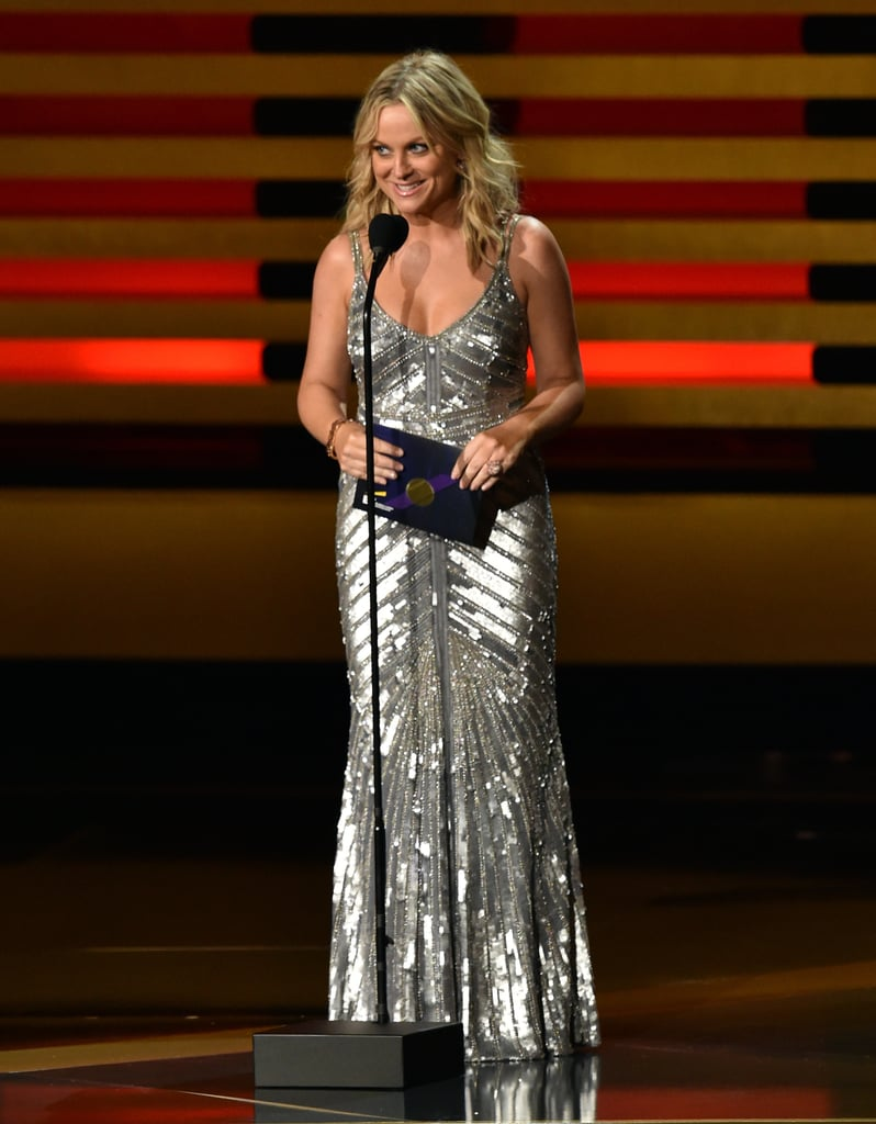 "Amy Poehler pulled her best ""Beyoncé"" when she presented the first award."