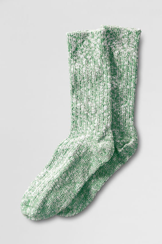 Lands' End Wigwam cotton ragg socks ($12) are a tried-and-true favorite.