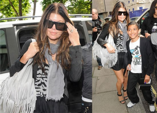 Photos of Fergie and the Black Eyed Peas in London