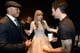 Taylor hung backstage with LL Cool J and Adam Levine at the Grammy Nominations Concert in December 2012.