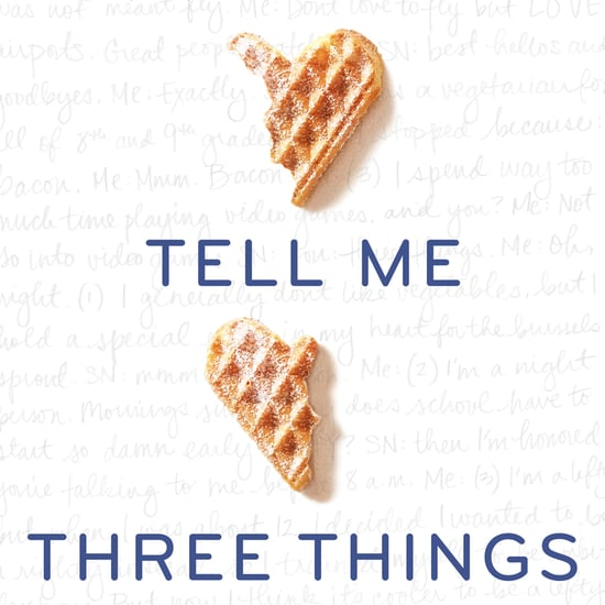 Tell Me Three Things Book