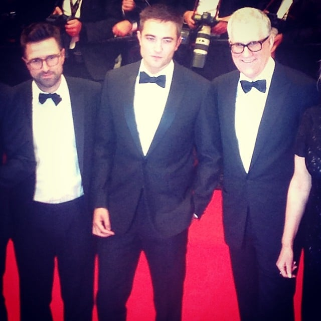 Robert Pattinson walked the red carpet at the premiere of The Rover. Source: Instagram user popsugar