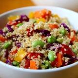 Sesame Ginger Quinoa Salad | Vegan