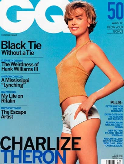 Charlize Theron covered GW back in November 2000.