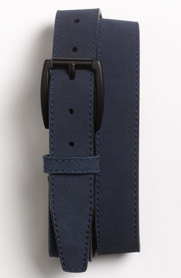 Will Leather Goods 'Marlow' Suede Belt