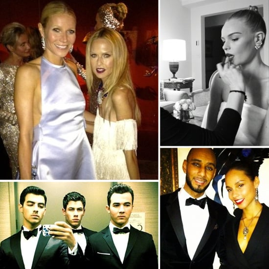 Behind-the-Scenes Met Gala Pictures From the Stars
